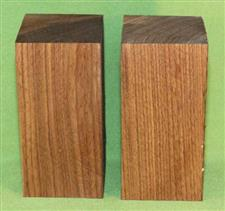 "Blank #761 - Black Walnut Solid Turning Blanks ~ 2 Each ~ 2 3/4"" x 2 3/4"" x 5 3/4"" ~ $18.99"